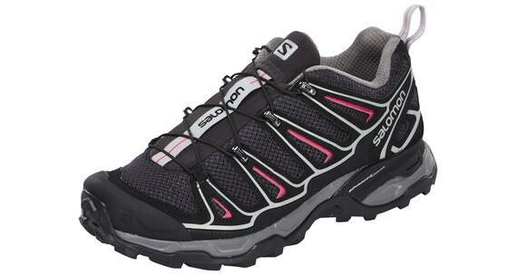 Salomon X Ultra 2 Hiking Shoes Women asphalt/black/hot pink